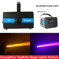 Factory Price Hot Sales 2Pcs Lot 5R Sniper Stage Light 5R Lamp With Zoom Function Scanner