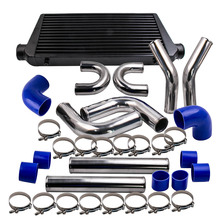 "600x300x76 Intercooler + 3.0 ""76mm Turbo Intercooler Piping kit Tubo e kit tubo flessibile"