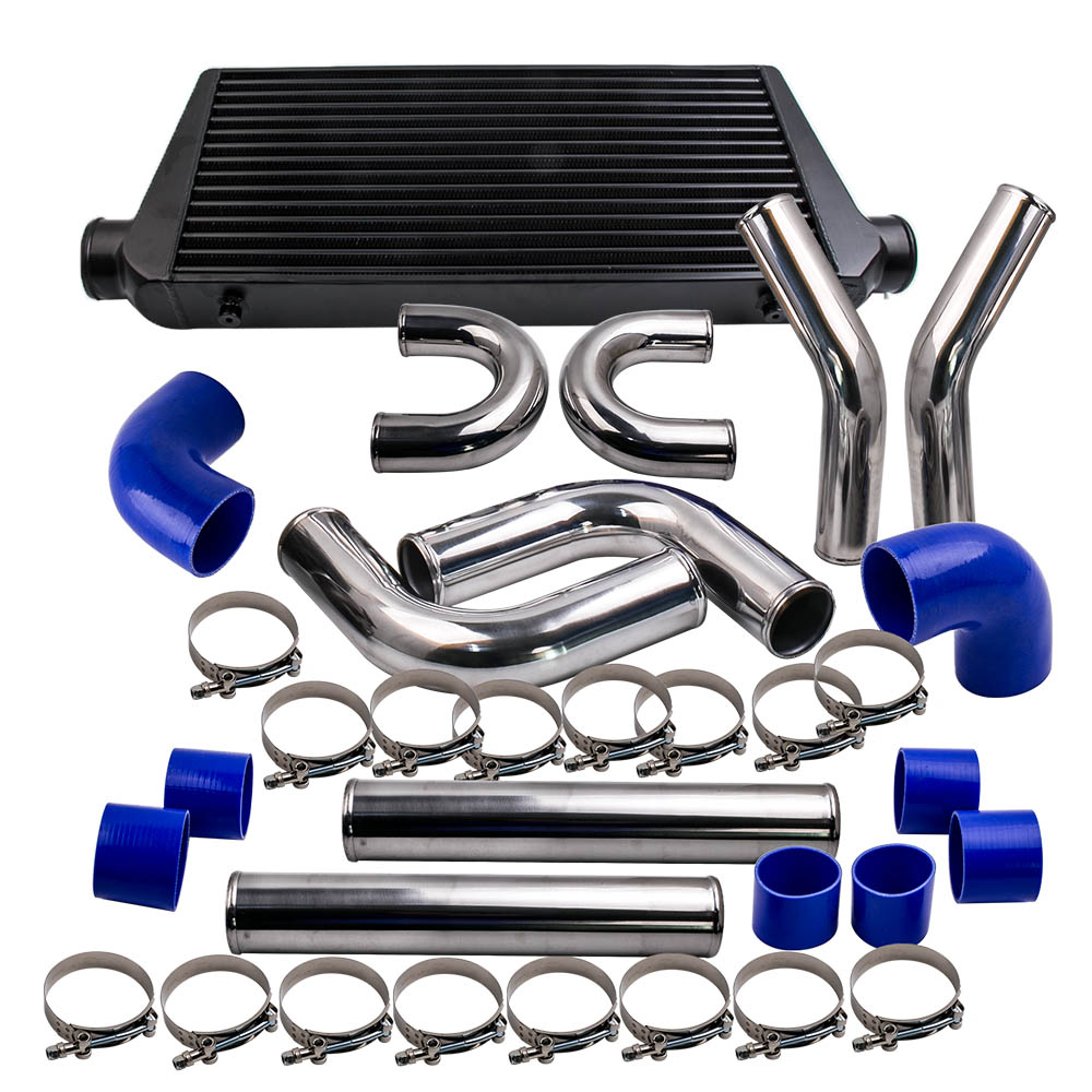 600x300x76 Intercooler + 3.0 76mm Turbo Intercooler Piping Pipe Kits & hose kit