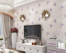 beibehang European style non-woven fabric 3d wallpaper bedroom living room clothing shop Rose Garden papel de parede wallpaper european style brown striped living room wallpaper plant wood pattern wallpaper 3d stereoscopic wallpaper roll papel de parede