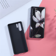 3D Relief Floral Phone Case For on Huawei P30 Pro P10 P20 P30 lite Nova 2i 3 3i 3e Mate 10 20 lite Girly Cover soft Cases(China)