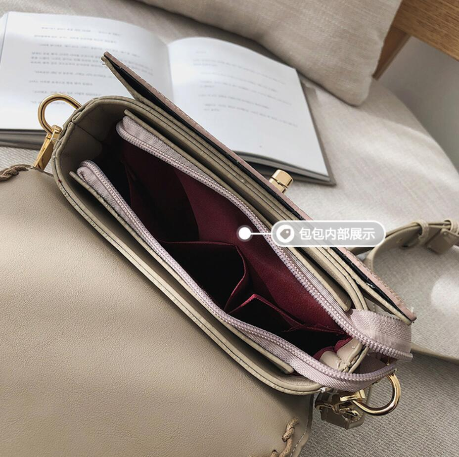 Vintage Fashion Female Tote bag 2019 New High Quality PU Leather Women's Designer Handbag Serpentine Lock Shoulder Messenger Bag 5