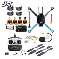 DIY Kit 2.4Ghz 4CH RC Drone 500mm Quadcopter APM2.8 Flight Control No Compass with M7N GPS T8FB Transmitter Receiver Motor ESC