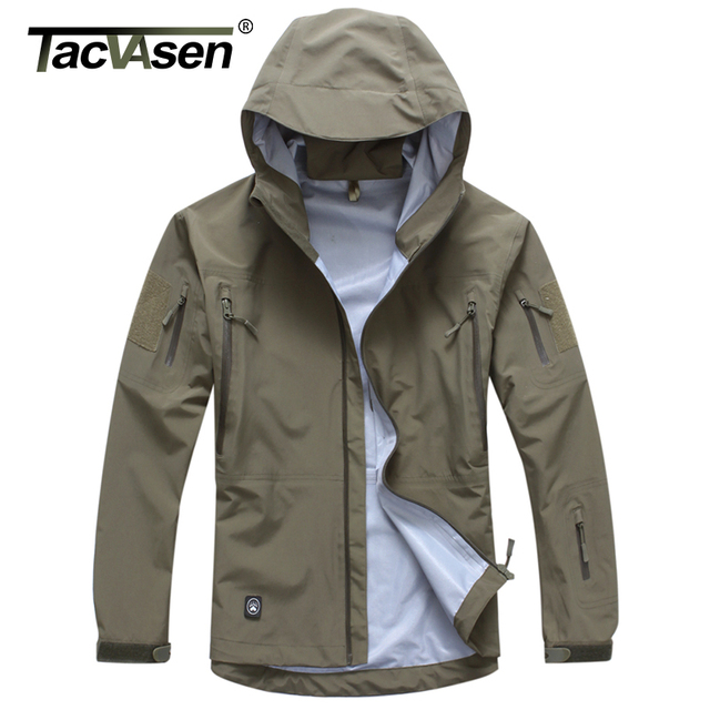 Aliexpress.com : Buy TACVASEN Men Tactical Waterproof jacket Hard ...