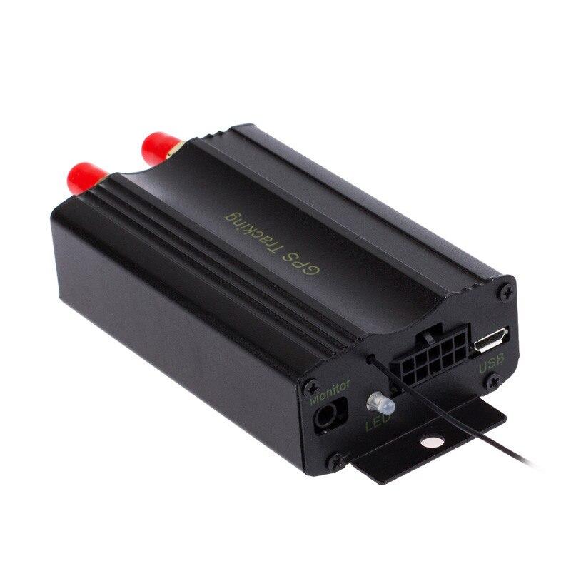 Top qualité véhicule voiture GPS SMS GPRS Tracker en temps réel dispositif de suivi Syatem à distance TK103B 103A #0518