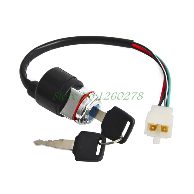 US $12 73 9% OFF Ignition Switch w/ keys For Honda CB 200 360 CL 200 CB200  CB360 CL200 CB500 CB550 CB750 Square Plug-in Motorbike Ingition from