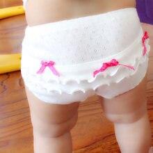 4 шт/лот хлопковое нижнее белье для малышей трусы девочек детские