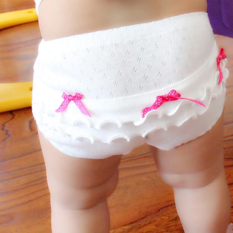 4pieces/lot Cotton Baby Underwear Girls Underpanties Kids Briefs 2017 New Fashion 0-3-5 Year Free Shipping