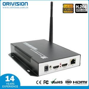 ZY-EH111W H.264 HDMI Video wifi encoder ondersteuning lokale display werkt met wowza, youtube fabriek leverancier