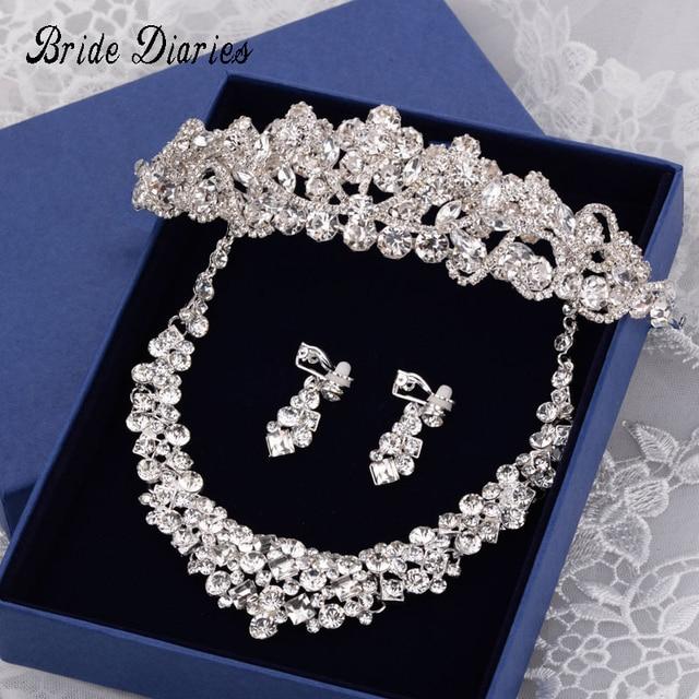 Bride Diaries Crown Jewelry Princess Tiara Wedding Party Accessories Romantic Ea
