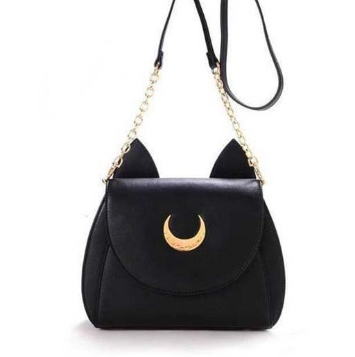 Lolita bag personality cartoon juniors limited edition one shoulder cross  body badge small moon bag-in Shoulder Bags from Luggage   Bags on  Aliexpress.com ... 5c005341d5311