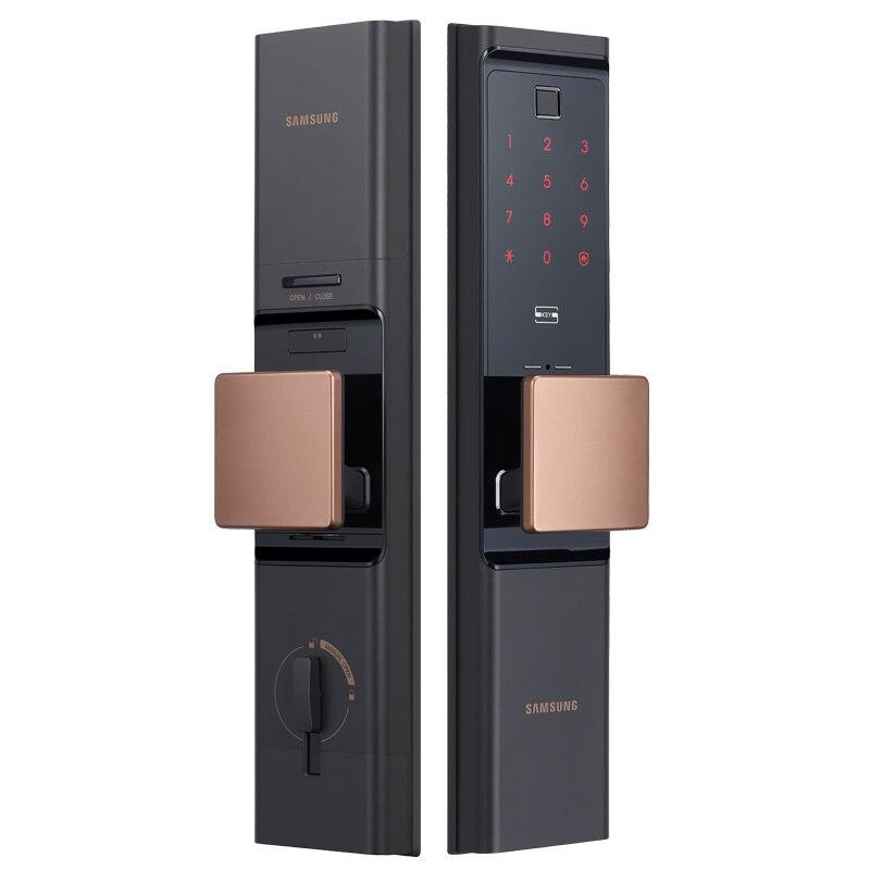 Serrure de porte Wifi d'empreinte digitale numérique SAMSUNG loT SHP-DR708 sans clé