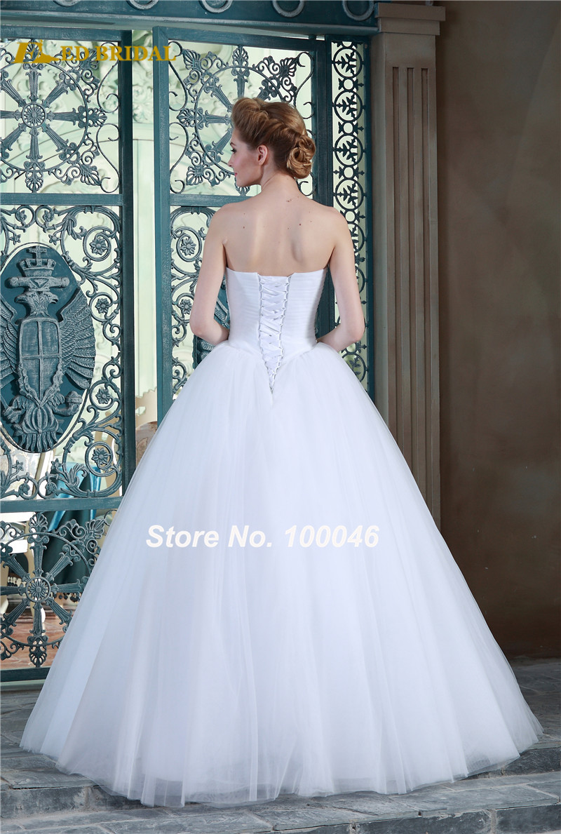 Bridal Gowns Discount Prices For 2015 Latest Bling Bling White ...