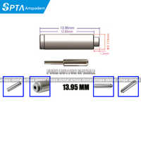 5pcs 13.95mm Dental Push spindle dental handpiece dental Shaft cartridge rotor spare parts