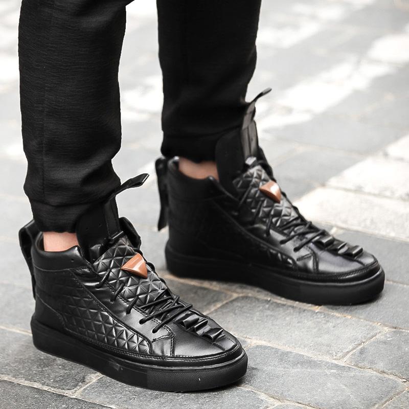 17 New Spring Autumn British Style Men Shoes Casual Shoes Men High Tops Fashion Hip Hop Shoes Zapatos De Hombre Mens Shoes 3