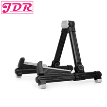 JDR Universal Portable Adjustable Folding A-Frame Professional Travel Stands for Acoustic/Electric/Classical Guitar Bass Banjo