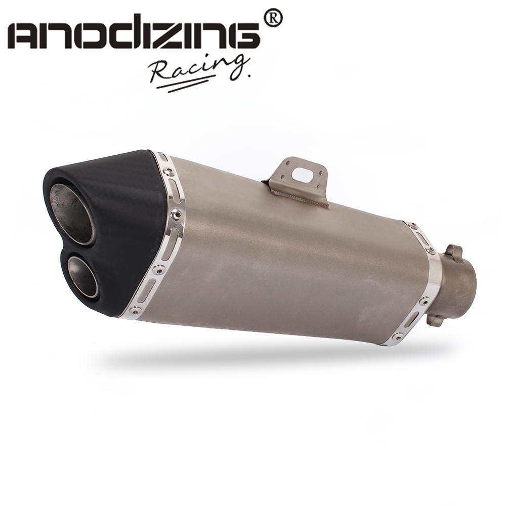 New Universal 36 51MM Motorcycle Stainless steel Exhaust For Many Motorcycle