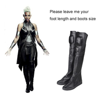 Storm Ororo Munroe Boots Marvel X Men Apocalypse Cosplay Boots Superhero Shoes Female Cosplay Accessories Halloween
