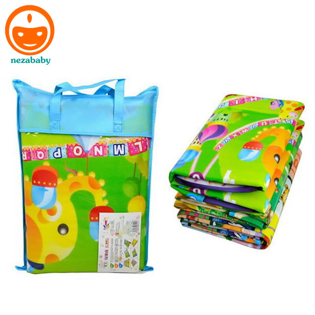 180cm Foldable Kids Play Mat Children Carpet Baby Climb Blanket Indoor Outdoor Axtivity Picnic Camping Px25