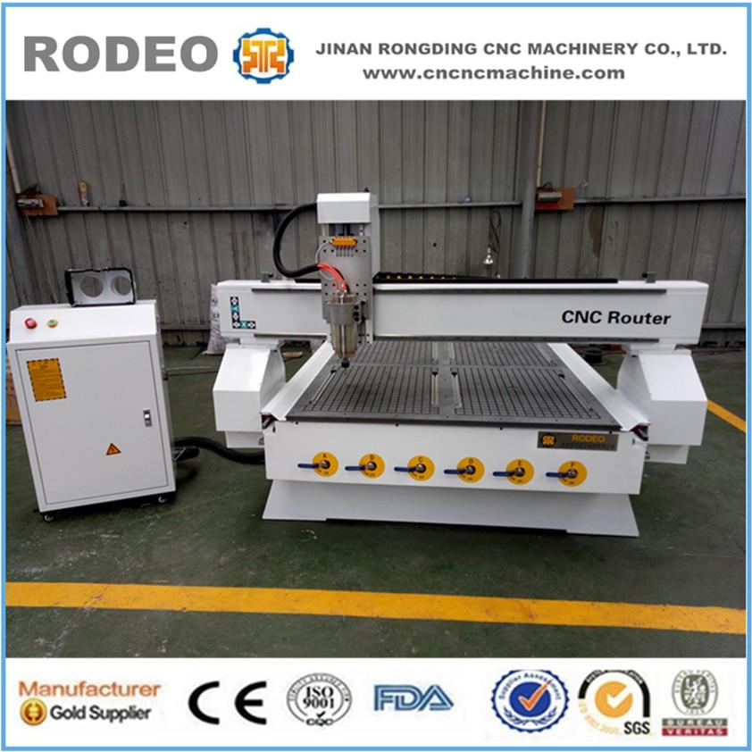Machine à bois de CNC de vente directe d'usine pour la fabrication de porte en bois