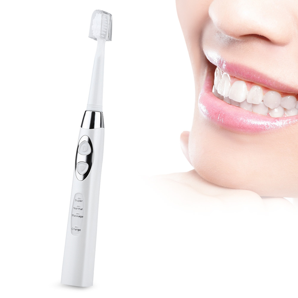Gustala 3pcs/lot Inductive Sonic Electric Toothbrush USB Rechargeable Toothbrush Modes Oral Dental Care Teeth Whitening Tool 2017 teeth whitening oral irrigator electric teeth cleaning machine irrigador dental water flosser professional teeth care tools