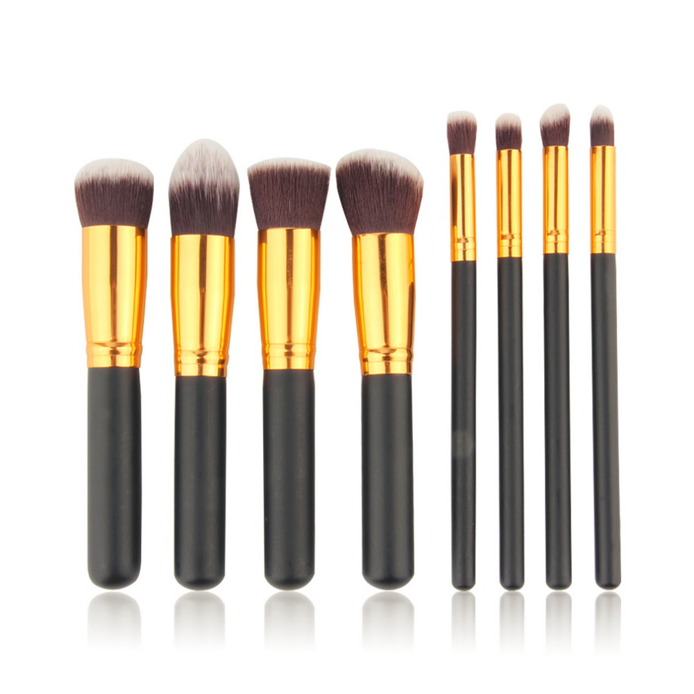 8Pcs/set Makeup Brushes Professional Cosmetic Make Up Brush Make up Brush tools kits for eye shadow palette Cosmetic Brushes free shipping durable 32pcs soft makeup brushes professional cosmetic make up brush set