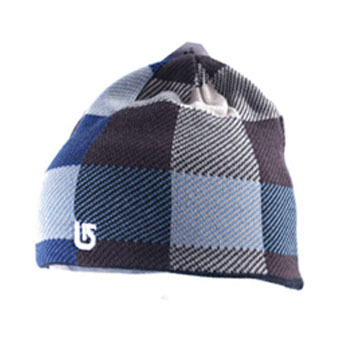 Gorros de lana Burton winter hats burdon male wire cap male thermal outdoor  skiing hat plaid winter hat fleece hat d45bc2755ed
