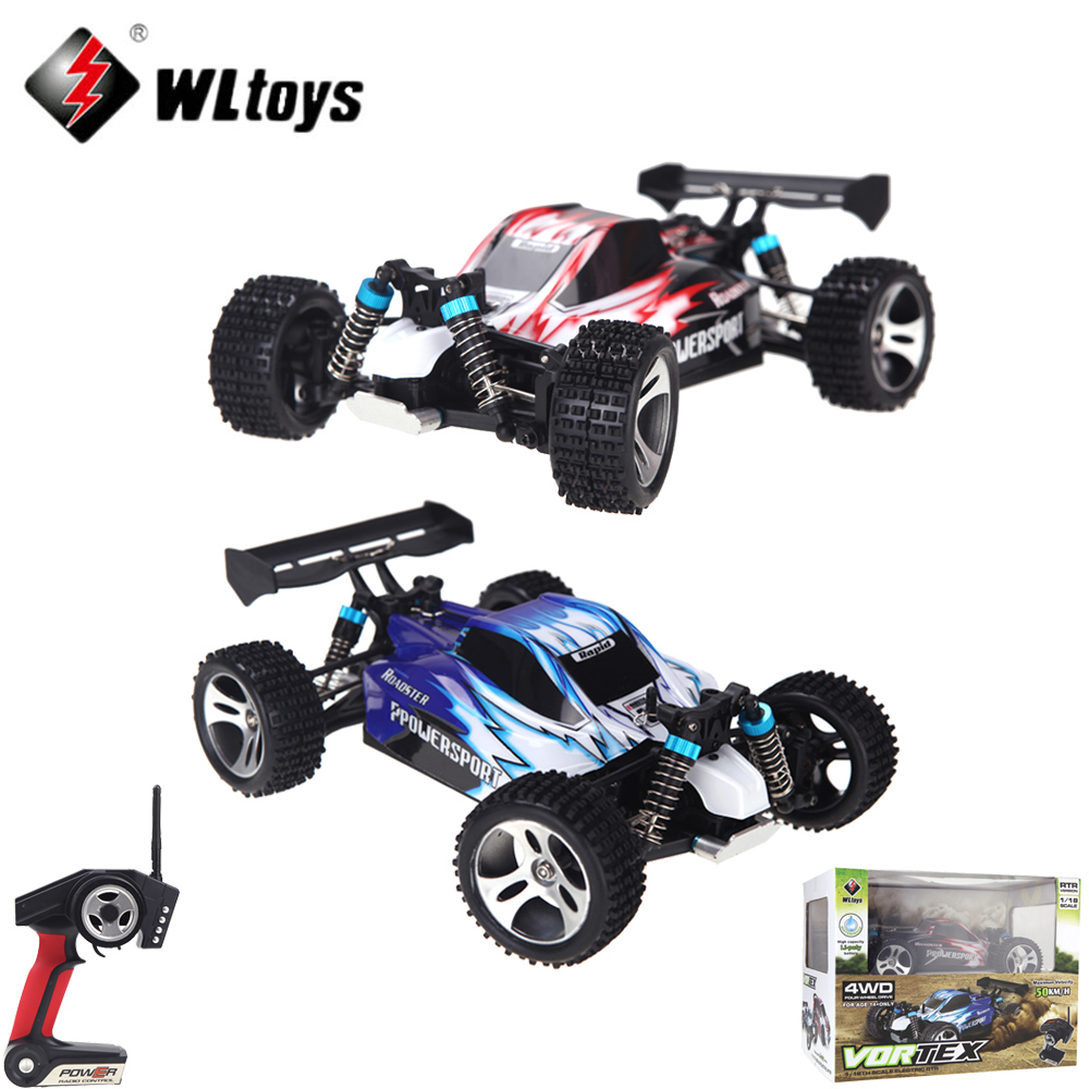 RC Car A959 1/18 1:18 Scale 2.4G 4WD RTR Off-Road Buggy Remote Control Car with Transmitter Toys for Children goolrc toys a959 a a959 b rc car 1 18 scale 2 4g 4wd electric rtr off road buggy rc cars suv toys radio remote control rc toy