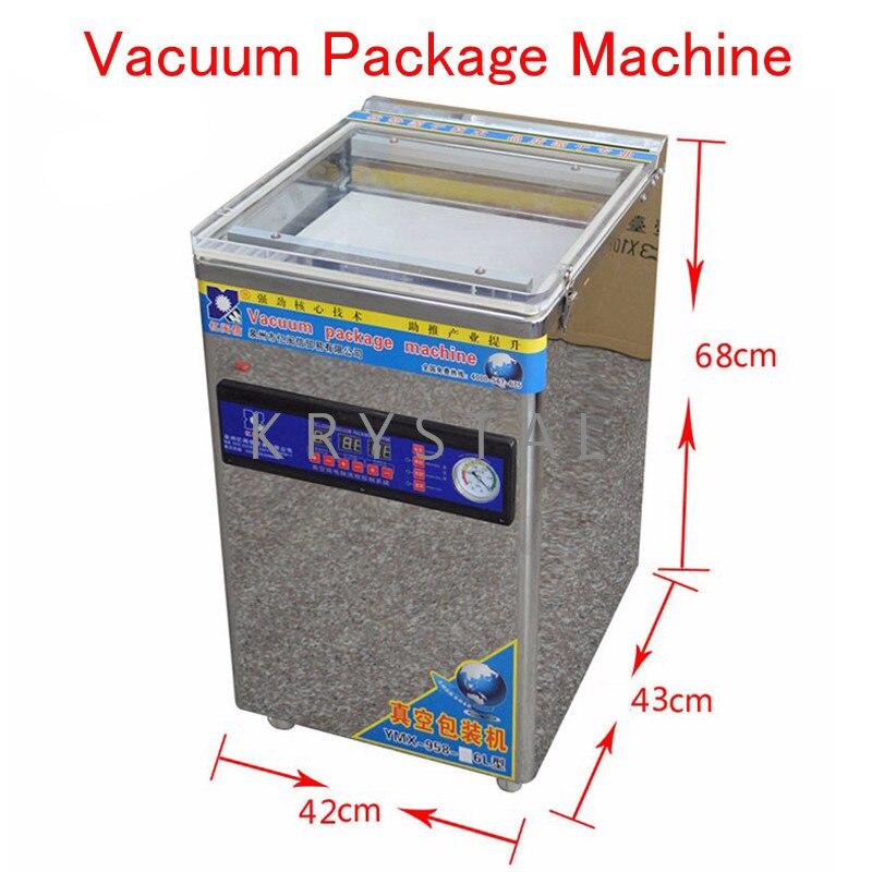 Machine de scellage sous vide Machine d'emballage sous vide électrique scelleur sous vide Double pompe scelleur d'emballage YMX-958-06L