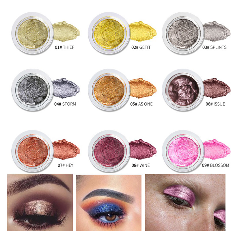 Beauty & Health Delicious Niceface Brands Loose Waterproof Eyeshadow Powder Diamond Gold Glitter Eyeshadow Palette Crystal Blue Purple White Eye Shadow Eye Shadow