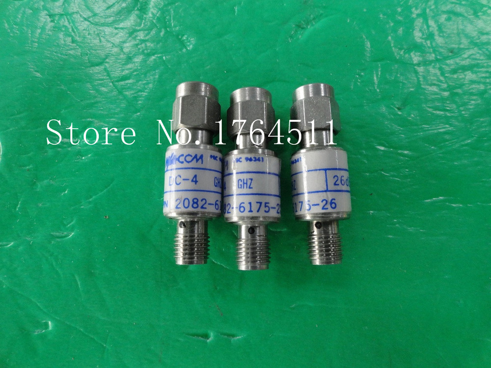 [BELLA] M/A-COM 2082-6175-26 DC-4GHz 26dB 2W RF Coaxial Fixed Attenuator SMA  --5PCS/LOT