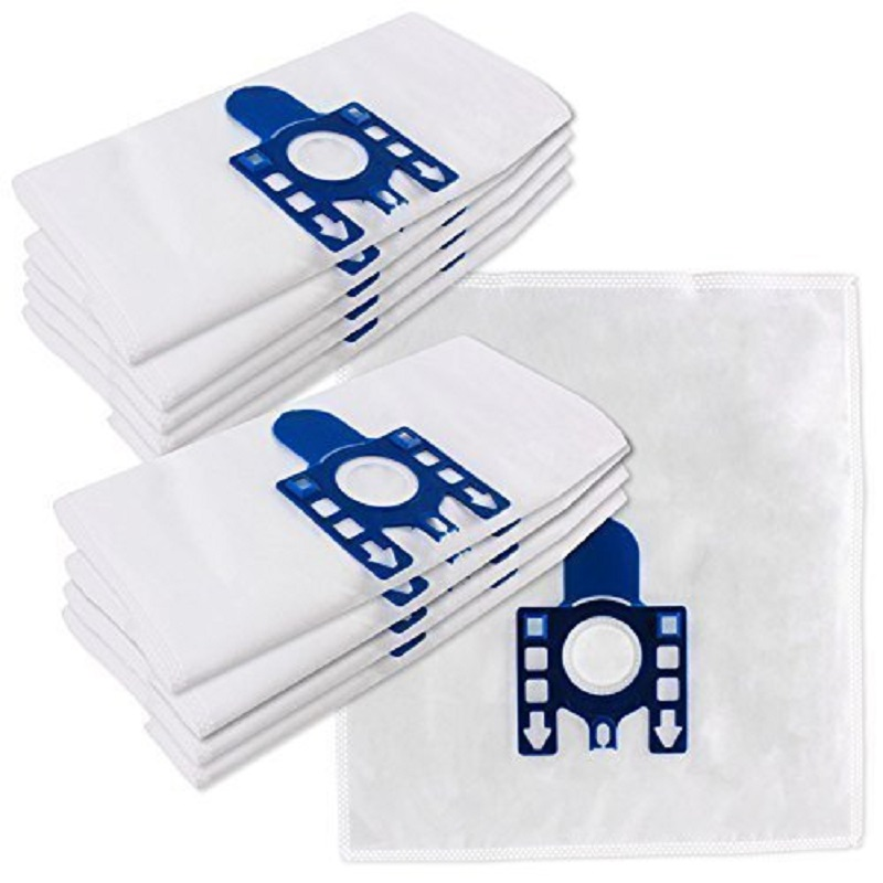 270MM*270MM 15 PCS New vacuum cleaner bags Miele GN Filter bags 5 layers nonwover filter bags 4X filters Hoover dust bags