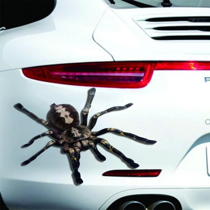 Automobiles & Motorcycles Generous Car-styling Auto Halloween Car Wall Home 3d Spider Sticker Mural Decor Decal Removable Terror New August5 Exterior Accessories