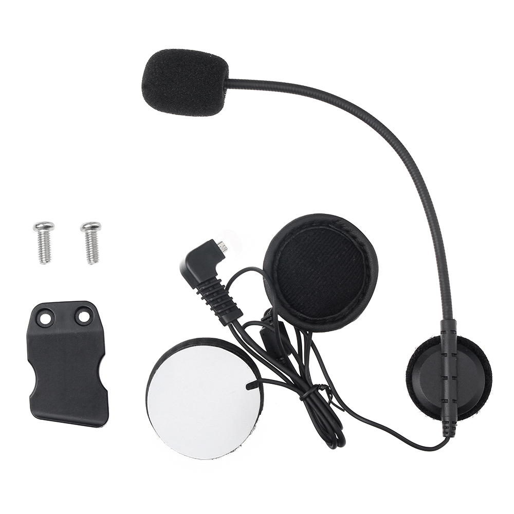 Headset Headphone With Microphone Clip Stereo Earphone Only For BT-S1 BT-S2 BT-S3 Motorcycle Helmet Wireless Intercom Interphone