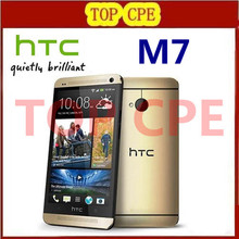Original phone Quad core Refurbished HTC ONE M7 4.7inches Dual camera 8MP touchscreen WIFI GPS Unlocked phone Free shipping