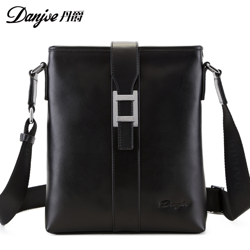 DANJUE Genuine Leather High Quality Men Daily Bag Men Messenger Bags Original Double Zipper Crossbody Bags For Men 30671 automotive computer board