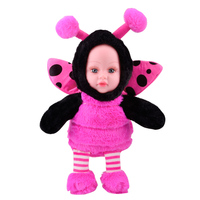 SHENGBOAO Plush Stuffed Toys 38cm 14.9inch Little Bee Insect Doll Accompany Children Soft Toys for Girls Best Birthday Gifts