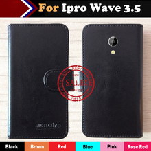 Hot!! In Stock Ipro Wave 3 5 Case 6 Colors Luxury Ultra-thin Leather Exclusive For Phone Cover+Tracking