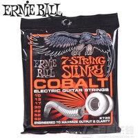 Ernie Ball 2730 Skinny Top Heavy Bottom Slinky 7 String Cobalt Electric Guitar Strings 10 62