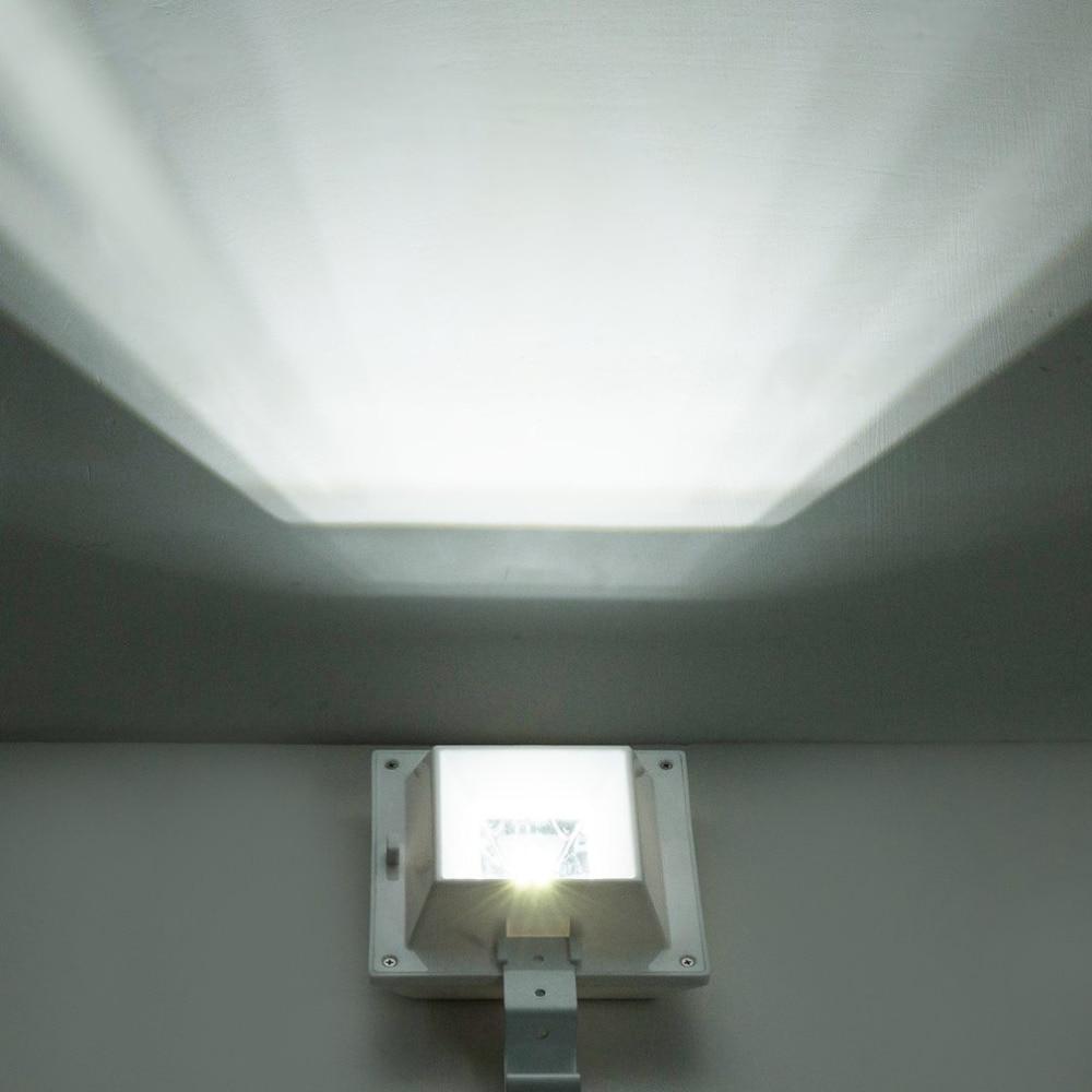 6 LED Solar Light PIR Motion Sensor Wall Lamp Waterproof Security Lighting Roof Gutter Light Emergency Lights Hot