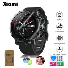 10Pcs/Lot(5Films+5Wipes)Soft TPU Clear Protective Film For Smart Watch Xiaomi Huami Amazfit Stratos Pace 2/2S Sport Smartwatch-@