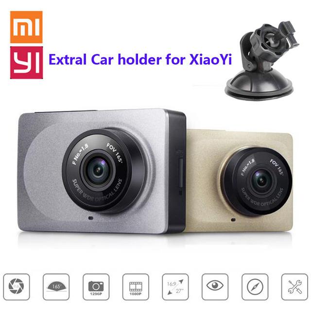 """[Edição internacional] xiaoyi yi smart car dvr 2.7 """"165 Graus 1080 P/60fps ADAS Seguro Wi-fi Suporte para Carro Traço Action Camera + Extra"""