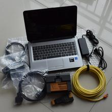 newest 2017.09 hdd for bmw diagnostic for bmw icom a2 b c software + new laptop 4g ram N3060+ icom a2 with top quality pcb board