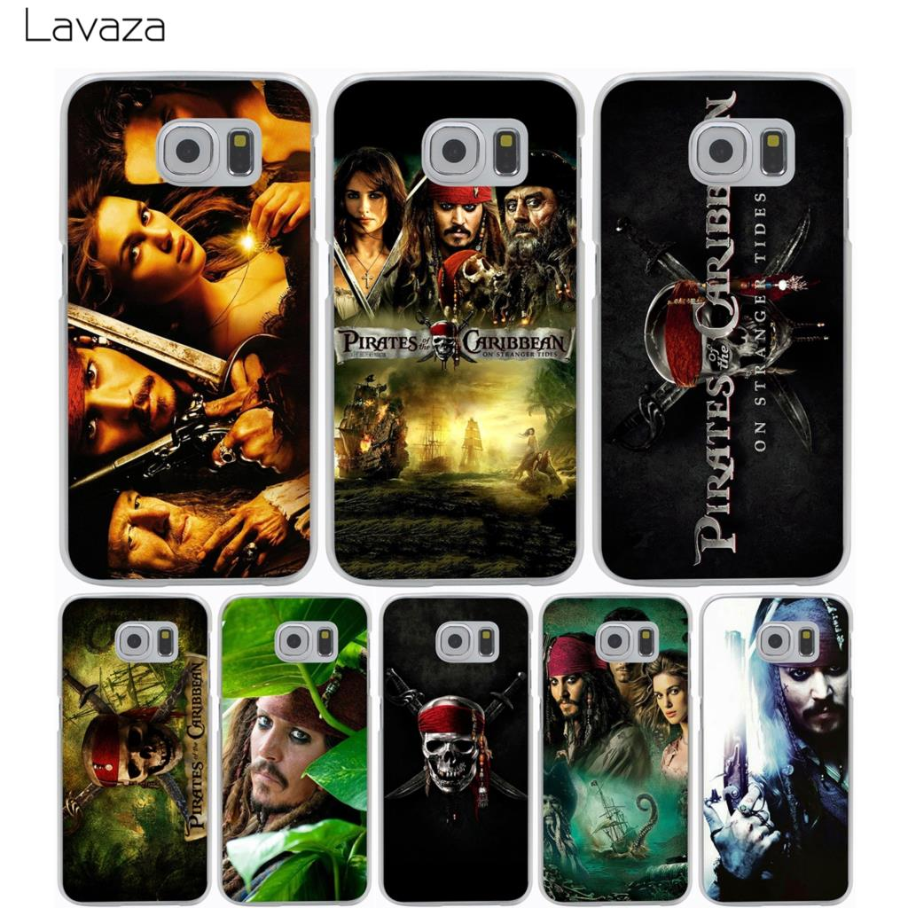 Lavaza Pirates Of The Caribbean Case for Samsung Galaxy S9 S8 S7 S6 S5 Edge Plus