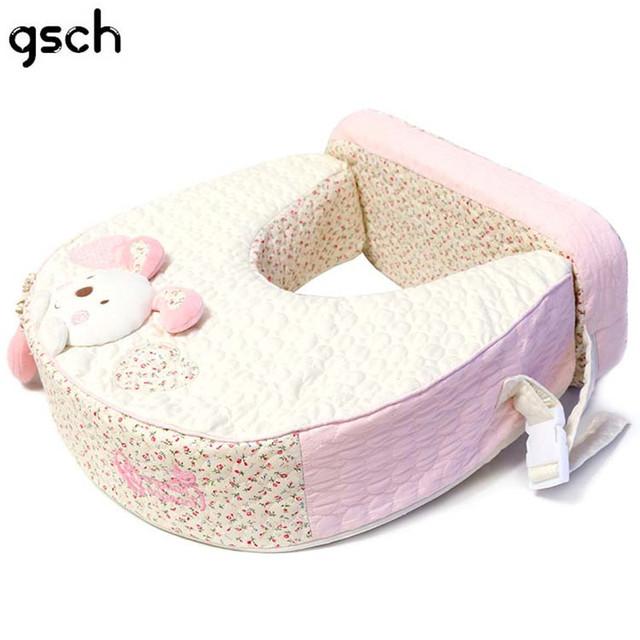 U-Forma do bebê Travesseiro De Enfermagem 100% Algodão Macio E Confortável Multi-funcional Múmia Amamentação Infantil Travesseiro Almofada de Apoio Da Cintura