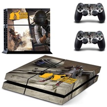 Game PUBG PS4 Skin Sticker Decal Vinyl For Sony PS4 PlayStation 4 Console and 2 Controllers PS4 Skin Sticker