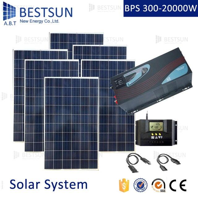 מגניב 6KW פנל סולארי מערכת מגורים 10KW מערכת אנרגיה סולארית מחוץ לרשת XI-82