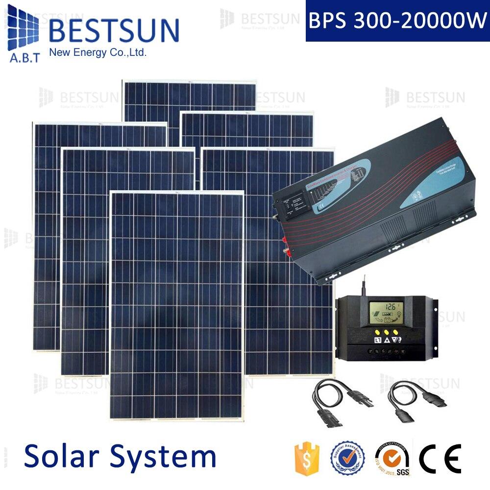 6kw Solar Panel Off Grid System 10kw Residential Solar