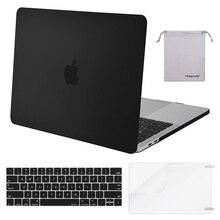 جراب لاب توب جديد من MOSISO مصنوع من الكريستال اللامع لأجهزة Apple Macbook Pro 13 15 غطاء صلب لجهاز MacBook Pro 13 الجديد جراب A1708 A1706 A1990