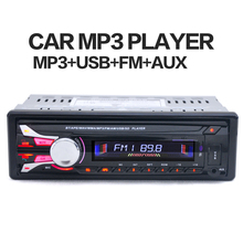 1188B 1DIN 12V Car Radio Stereo FM MP3 Player In-Dash Bluetooth AUX Input with Detachable Front Panel USB Port Remote Control цена и фото